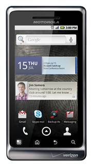 droid 2 front