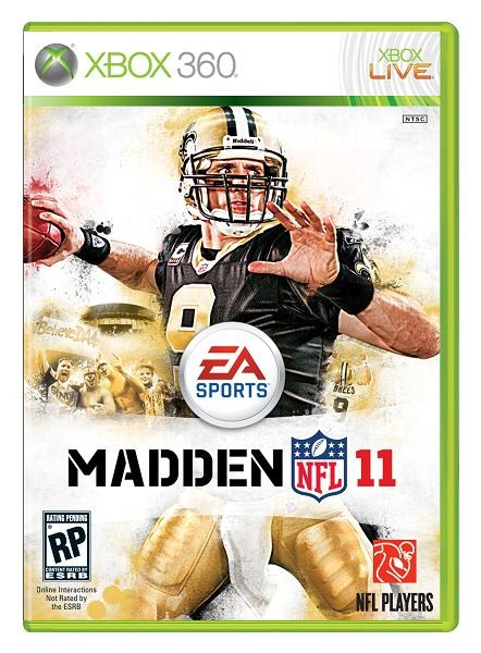 madden 11 xbox 360 cover