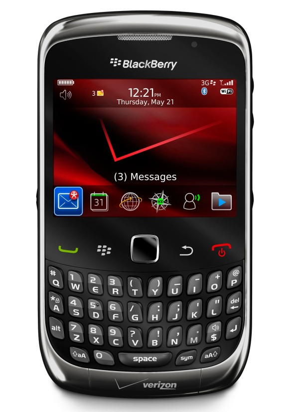 bb curve 3g verizon gray