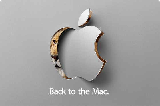 apple back to the mac invite