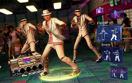 dance central kinect