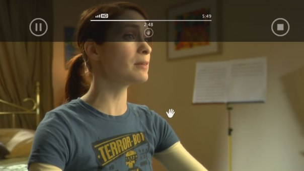 controlling video kinect
