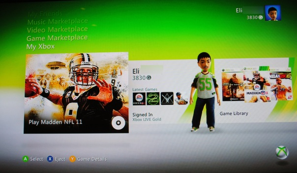 xbox live 2010 dashboard update