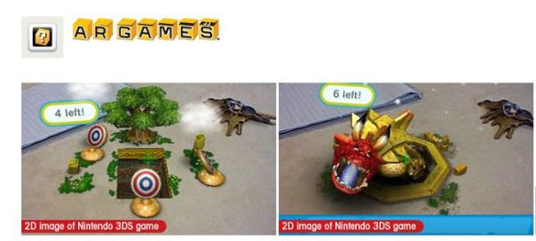nintendo 3ds ar games