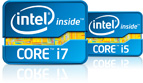 intel core i5 and i7 logo