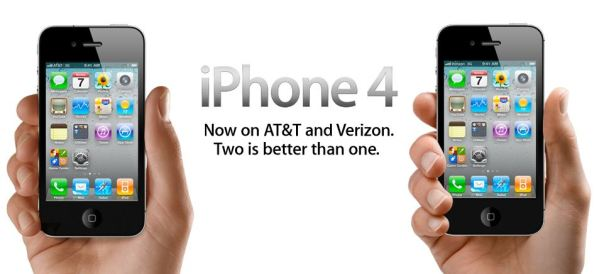 iphone 4 att verizon