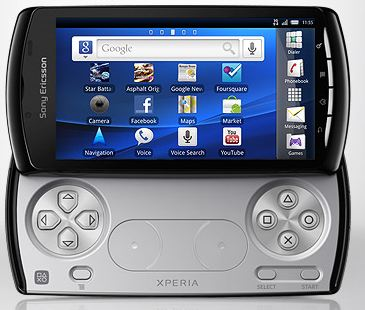sony xperia play homescreen