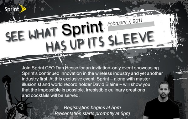 sprint feb 7th announcement