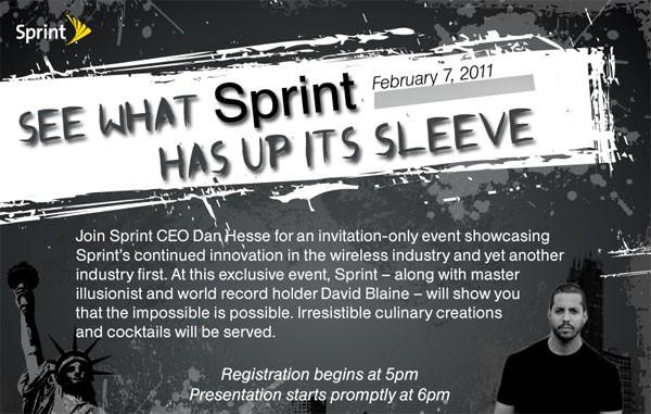 sprint feb 7th announcement