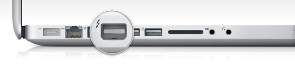 thunderbolt port macbook pro 2011
