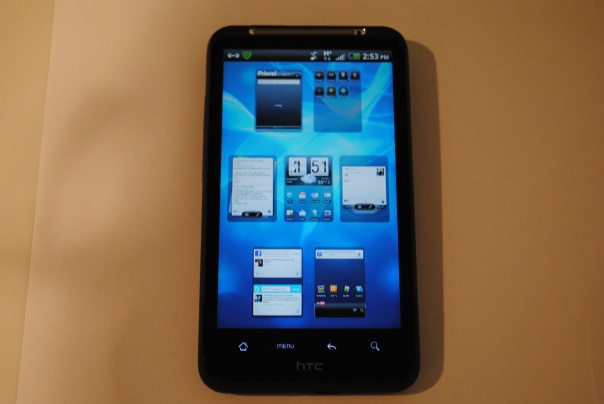 htc sense 2.0 homescreen panels