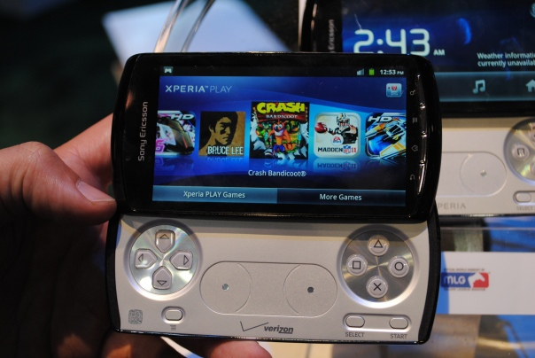 xperia play gamestore