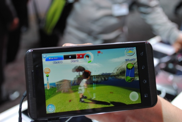 lg optimus 3d lets golf 2