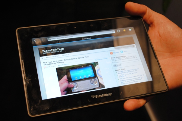 blackberry playbook teenstalktech ctia