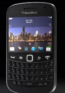 blackberry bold touch rumor
