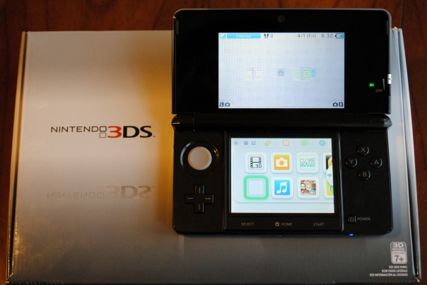 nintendo 3ds first look