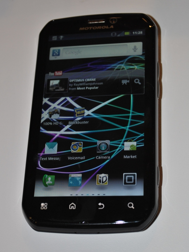 motorola photon 4g home screen