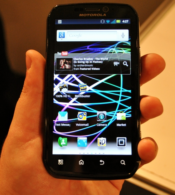 motorola photon 4g first look in hand