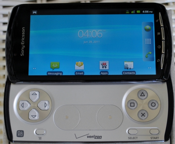 xperia play android 2.3 homescreen