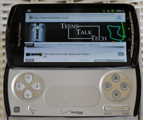 xperia play browser