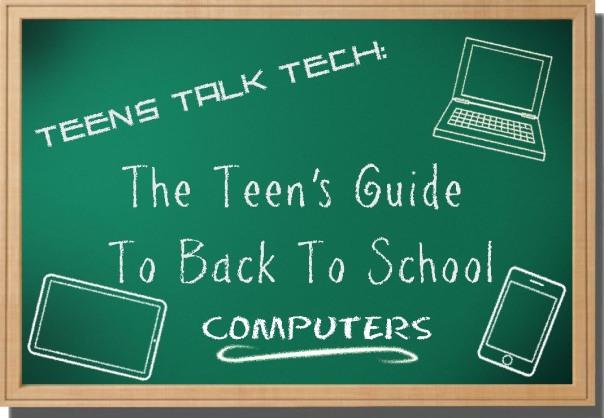 teens back to school computer