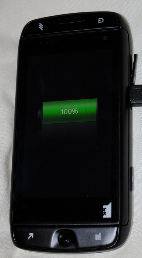 sidekick 4g battery life