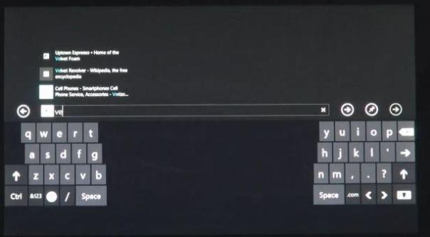 windows 8 thumb keyboard