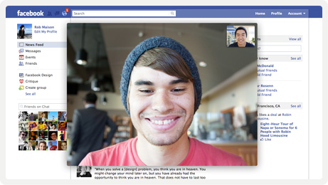 facebook skype video chat