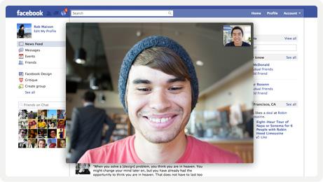facebook skype video chat