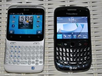 htc status blackberry curve