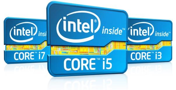 intel second gen core processors