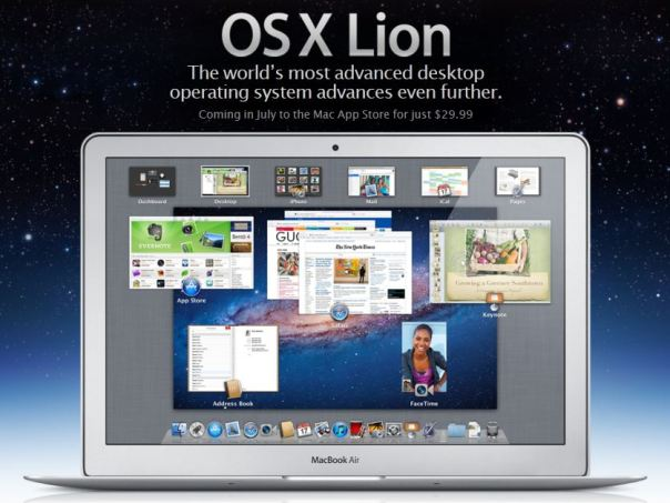 os x lion release