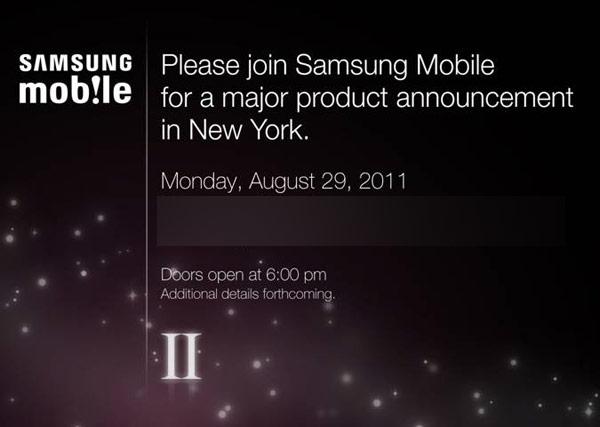 samsung galaxy s 2 us invite