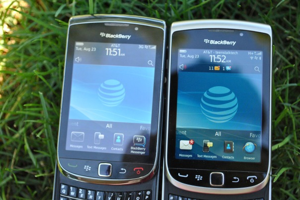 blackberry torch 4g screen
