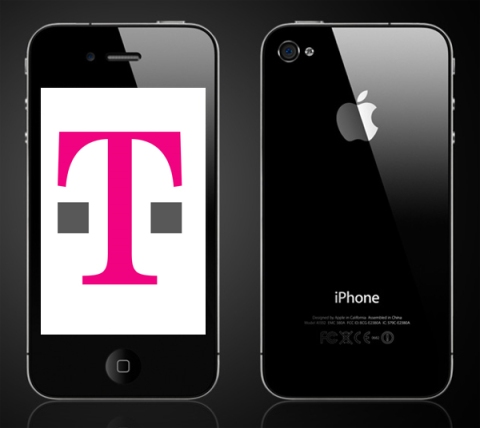 tmobile iphone 4 mock