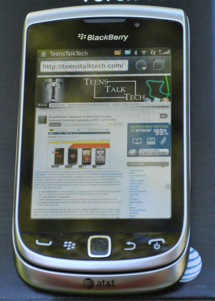 torch 4g browser