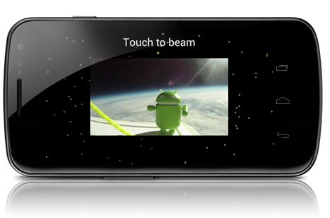 android 4.0 android beam