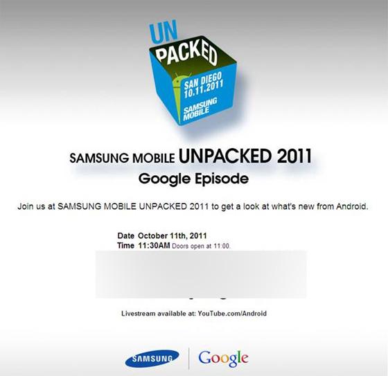 samsung google ctia invite