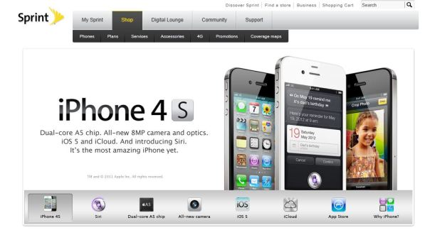 sprint iphone live