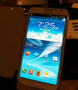 galaxy note 2 hands on 1