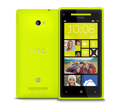 htc 8x yellow
