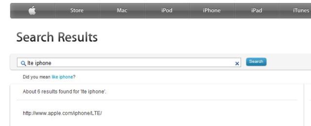 iphone 5 leak apple search lte