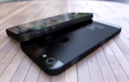 iphone 5 render black