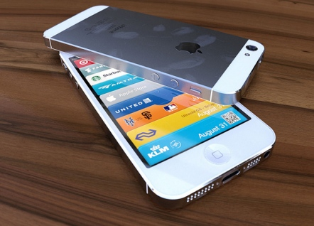 iphone 5 render white