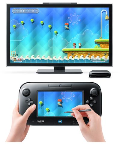 wii u gamepad demo