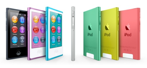 ipod nano 2012 colors