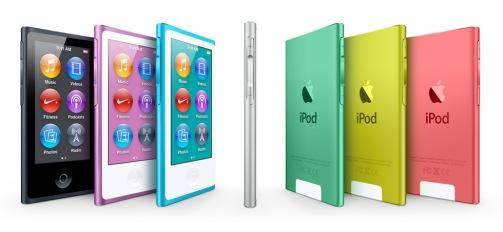 ipod nano 2012 colors