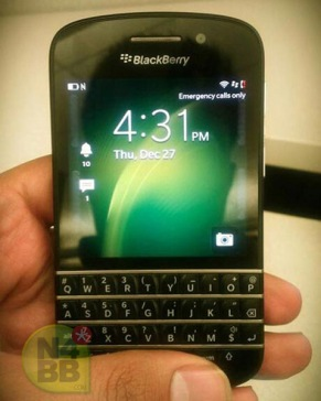 BlackBerry x10 leak 2