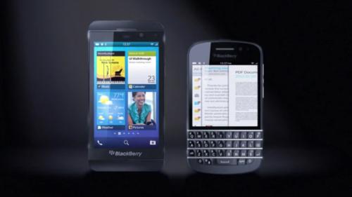 BlackBerry Z10 and X10 leak 2