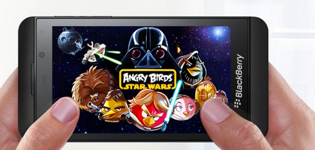 blackberry z10 angry birds